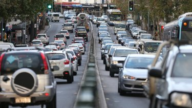 The survey shows 93 per cent of businesses believe Sydney's congestion has worsened in the last year.