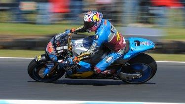 Strong return: Australia's Jack Miller.
