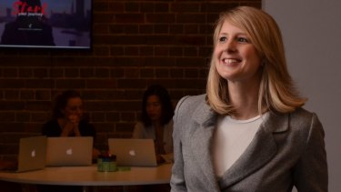 Nicola Hazell, director of SheStarts at BlueChilli, which aims to have more women founding start-ups.