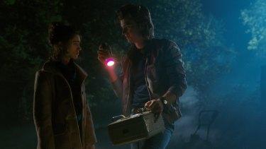 Nancy and Jonathan in <i>Stranger Things</i> season two.
