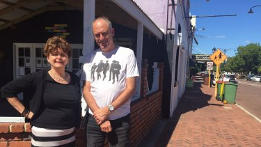 Future Bayswater members and long-term residents Paul Shanahan and Linda Slater say the development is desperately needed.