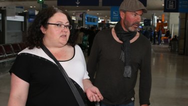 Emma's mother Lisa and uncle Michael arrived in Paris on Monday and rushed to the hospital.