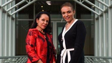 Trailblazers: Barton MP Linda Burney and Cowan MP Dr Anne Aly.