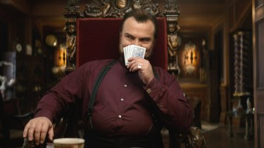 Jack Black plays a mediocre warlock in The House With a Clock in its Walls.
