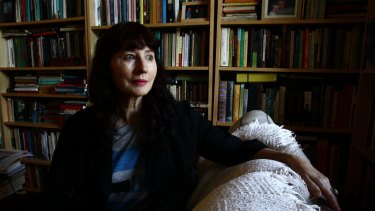 Gail Jones, author of soon to be released novel The death of Noah Glass in her Glebe home.