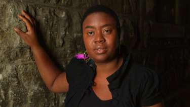 Maxine Beneba Clarke, Australian writer and poet of Afro-Caribbean decent whose first book,  <i>Foreign Soil</i>, won the Premier's unpublished manuscript award.