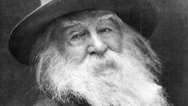 Walt Whitman, the American poet.