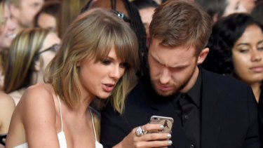 To show that they are never, ever getting back together, Calvin Harris deleted all references to their relationship on social media.
