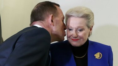 Former PM Tony Abbott requested the review into Mrs Bishop's expenses.