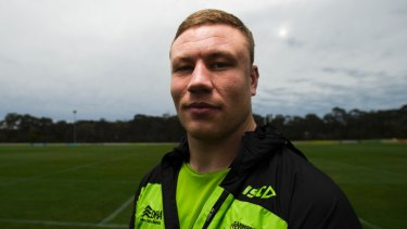 A trim Shannon Boyd joined the Green Machine's pre-season this week after a break following international duty at last year's Four Nations.