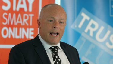 Alastair MacGibbon, the Children's eSafety Commissioner.