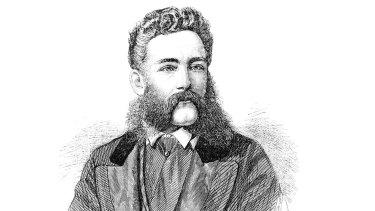 Sketch of William Robert Guilfoyle.