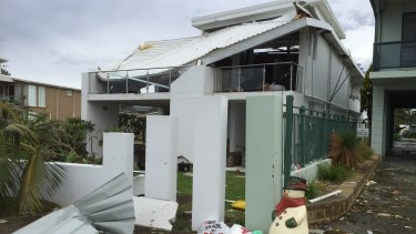 Property damage at Kurnell might have been caused by a tornado.
