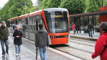 Commuters in Bergen rely heavily on trams and still seem to manage, somehow.