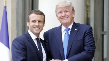 Emmanuel Macron and France have displaced the US at the top of the soft power index.