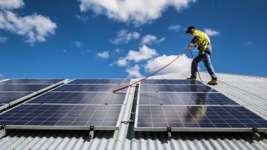 Solar skies: NSW is the fastest-growing state in terms of solar PV installations.
