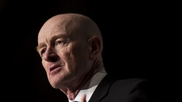 RBA Governor Glenn Stevens warns businesses are more focussed on shareholder returns than on plans to boost growth.