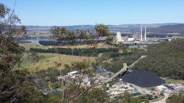 Springvale coal mine near  Lithgow.