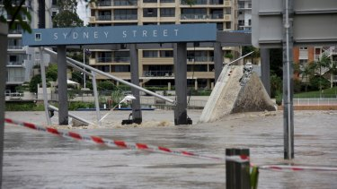 The 2011 Queensland floods could have been worsened by warming oceans around Australia.