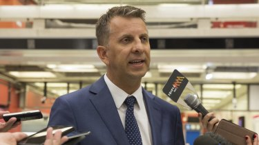 """I want to do away with timetables"": Transport Minister Andrew Constance."