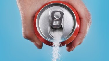 Simply swapping sugar-dense drinks for water can halve our intake.