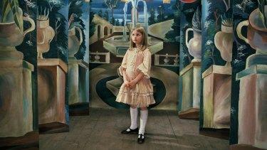 Kristyna Kohoutova in Jan Svankmajer's Alice (1988), featuring in the ACMI exhibition Wonderland.