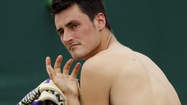 Keen to speak his mind: Bernard Tomic.
