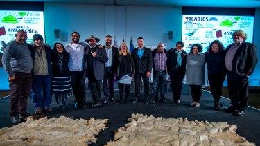 Aboriginal Victoria Forum-Self determination and Treaties at the Melbourne Convention Centre.