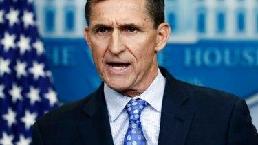 Trump's first national security adviser Michael Flynn.