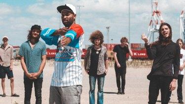 Mixing hip-hop, jazz and Fremantle's docks - Koi Child.