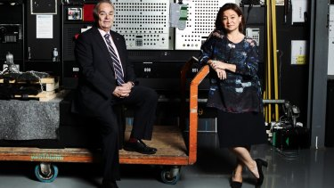"""""""She's pushing it faster thank Mark did,"""" says ABC chairman James Spigelman of the change being instituted by managing director Michelle Guthrie."""