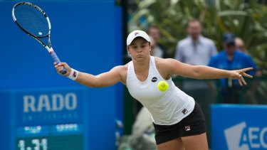 Barty is treating this as a 'development' year for her comeback.