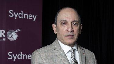 Qatar Airways chief executive Akbar Al Baker says his airline will not fly to the new airport because of the lack of a rail link.