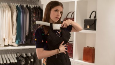 Anna Kendrick in A Simple Favour.
