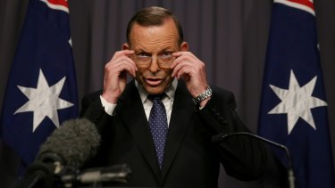 """Prime Minister Tony Abbott: """"This is a matter that should rightly be put to the Australian people."""""""