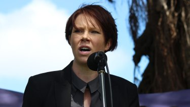 Australian Services Union NSW branch secretary Natalie Lang.