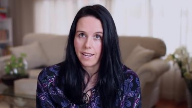 Cella White in the anti-gay marriage advert.
