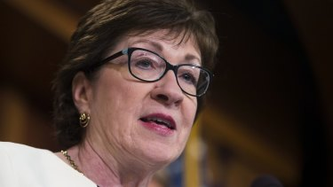 """""""It does seem like we have an upheaval, a crisis almost every day"""": Senator Susan Collins,"""