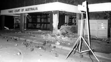 Family Law court bombing in Parramatta.