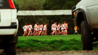 """""""Footy is one of the things that holds country towns together."""""""