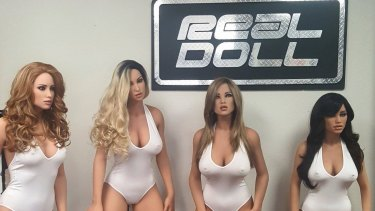 The RealDolls and other sex robots can be customised according to traits the user finds appealing.
