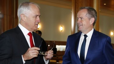 The Prime Minister and Opposition Leader both addressed the AMA's conference on separate days.