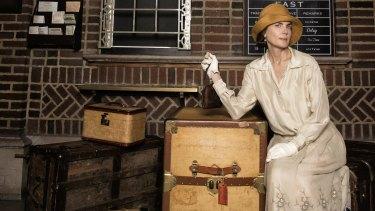 Elizabeth McGovern in The Chaperone.