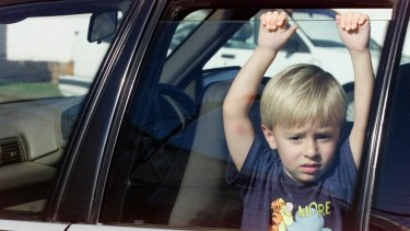 The majority of children left in cars - 88 per cent - are under the age of four.