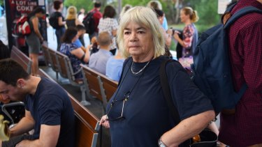 St Peters resident Cathie Hughes says locals have been left in the dark about future train services.