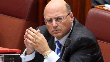 Senator Arthur Sinodinos ... accused of possibly misleading Parliament