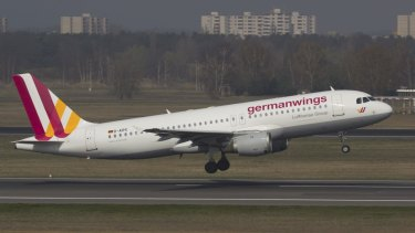 A Germanwings Airbus A320 in Berlin last year.