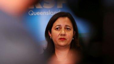 Annastacia Palaszczuk, Queensland's Premier, faces some tough choices.