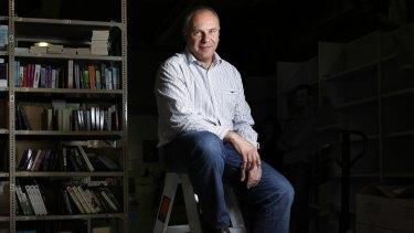 Tony Nash is preparing to float his family's online book retailer, Booktopia.