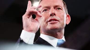 Former prime minister Tony Abbott: not after the top job again, according to Peta Credlin.